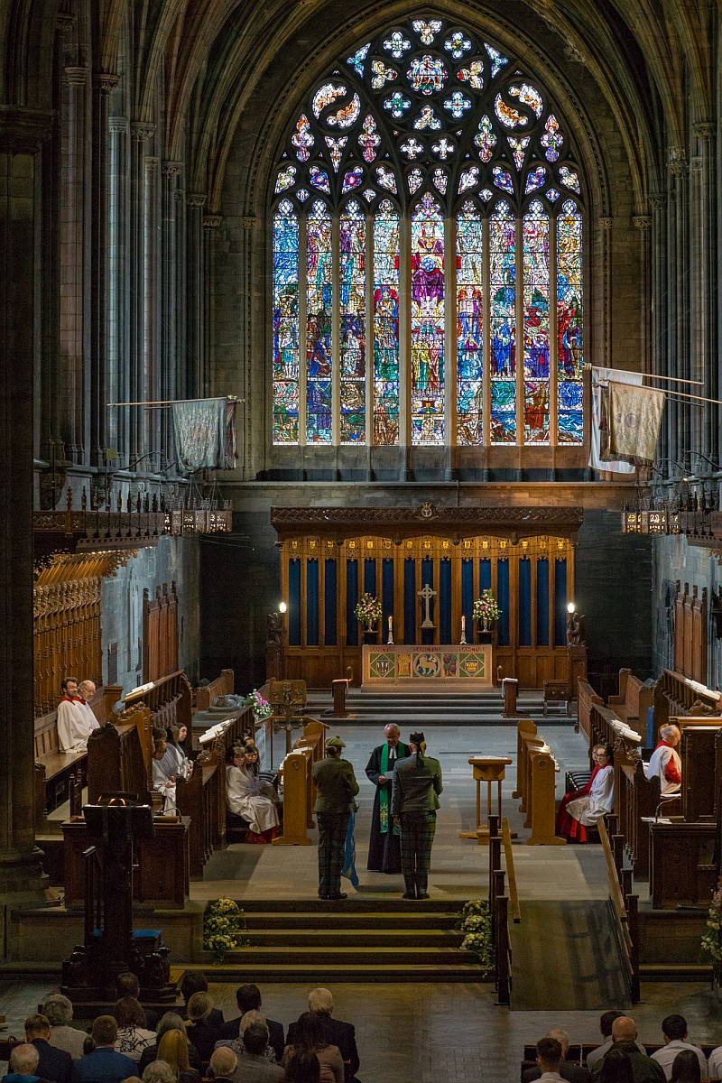 Clan Paisley Society and Service at Paisley Abbey