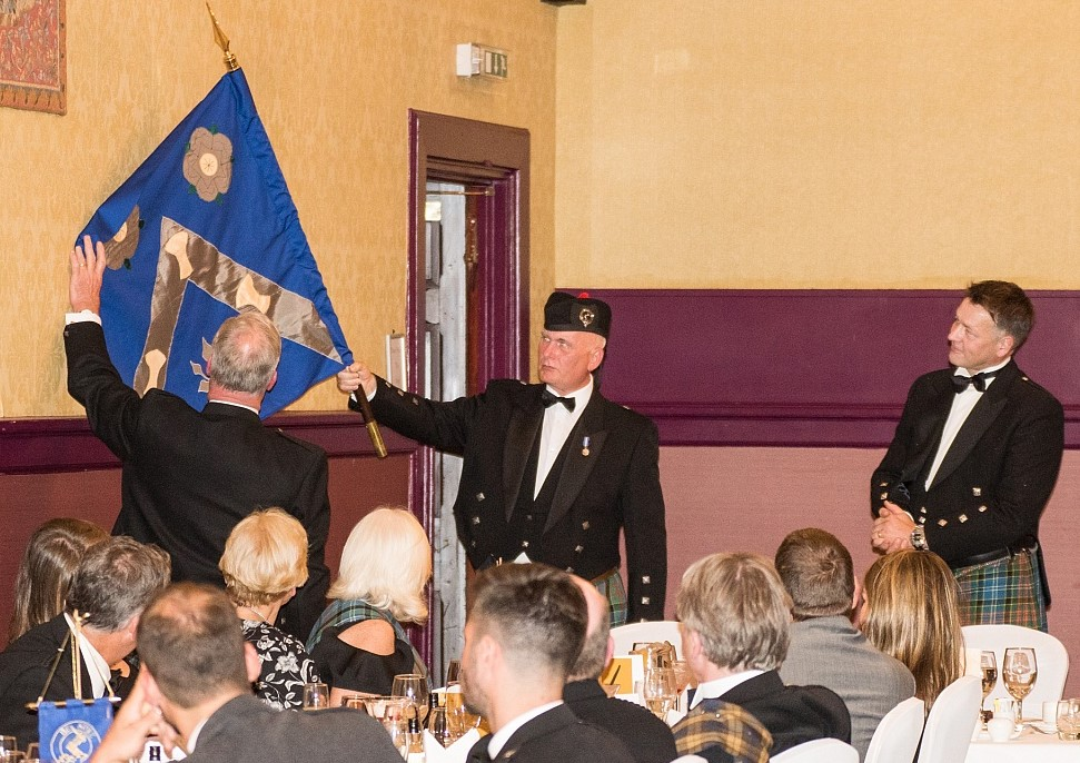 The Much Hon. Duncan W. Paisley of Westerlea describing the Armorial Banner of Mr Sandy Paisley.